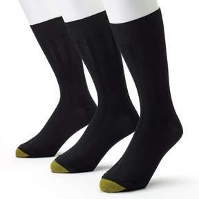 Gold Toe GOLDTOE Men's GOLDTOE 3-pk. Middleton Dress Socks