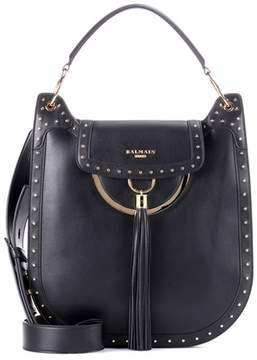 Balmain Leather shoulder bag