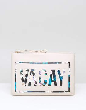 New Look Vacay Zip Top Travel Bag