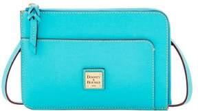 Dooney & Bourke Saffiano Flat Crossbody Shoulder Bag - CALYPSO - STYLE
