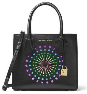 Michael Kors Mercer Modern Disco Leather Crossbody - Black - 30H7MM9M2O-001 - ONE COLOR - STYLE