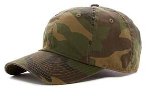 American Needle Washed Camo Baseball Cap