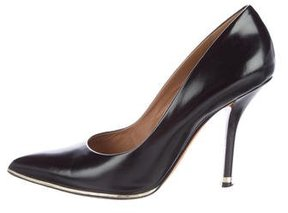 Givenchy Leather Pointed-Toe Pumps
