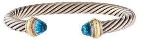 David Yurman Topaz Cable Classics Bracelet