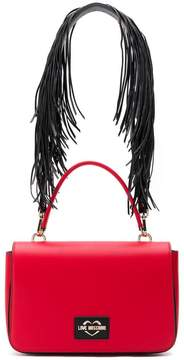 Love Moschino fringe strap shoulder bag
