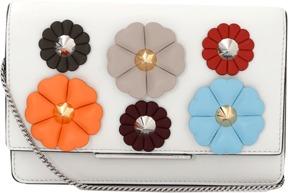 FENDI Floral Embellished Wallet