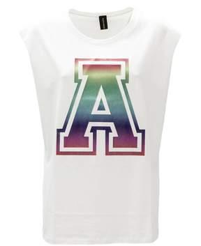 Alexandre Vauthier White Cotton Long T-shirt