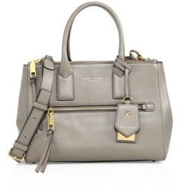 Marc Jacobs Recruit East-West Leather Tote - MINK - STYLE
