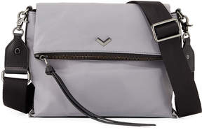 Botkier Mayfair Nylon Crossbody Bag, Gray