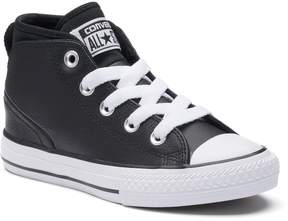 Converse Kids' Chuck Taylor All Star Syde Street Mid Leather Sneakers