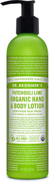 Dr. Bronner's Patchouli Lime Lotion