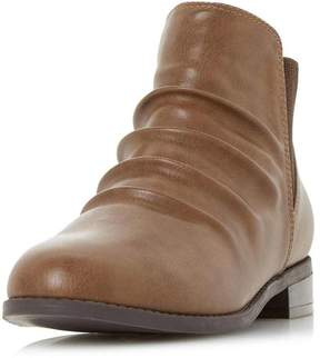 Head Over Heels *Head Over Heels by Dune Tan Piaa Ankle Boots