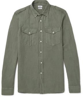 Brunello Cucinelli Linen And Cotton-Blend Shirt