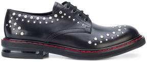 Alexander McQueen Hammered Stud derbies