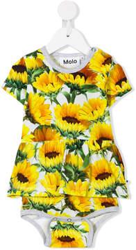 Molo sunflower print dress