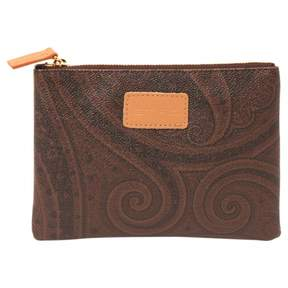 Etro Brown Leather Purse