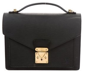 Louis Vuitton Epi Monceau Bag - BLACK - STYLE