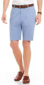 Daniel Cremieux Signature Classic-Fit Flat-Front Solid Oxford Shorts
