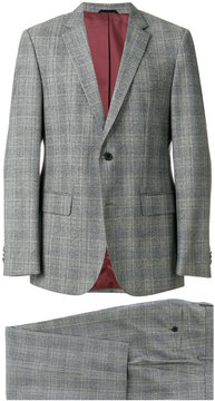 HUGO BOSS tailored check suit