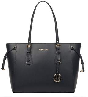 Michael Kors Blue Voyager Saffiano Leather Tote - BLUE - STYLE