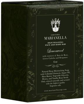 Lemonwood Rejuvenating Face + Body Bar by Jaboneria Marianella (6oz Bar)