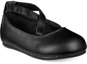 First Impressions Cross-Strap Ballet Flats, Baby Girls (0-4), Created for Macy's