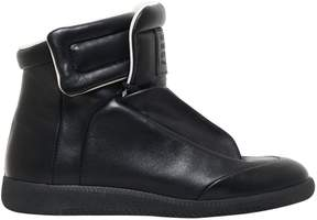 Maison Margiela Future Soft Leather High Top Sneakers