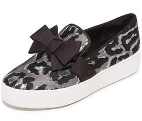 Michael Kors Val Platform Slip On Sneakers