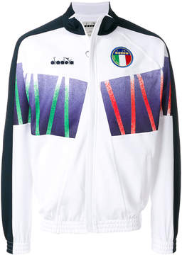 Diadora zipped sports jacket