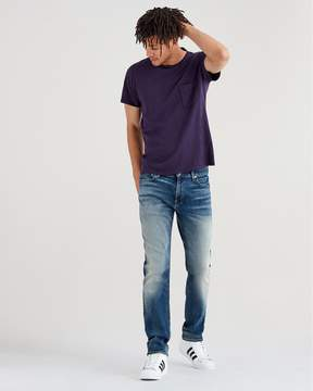 7 For All Mankind Luxe Sport Adrien with Clean Pocket in Authentic Outpost