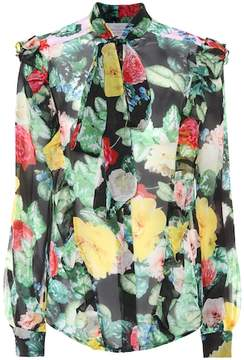 Preen by Thornton Bregazzi Billy floral-printed silk blouse
