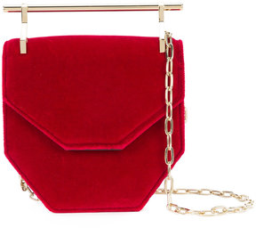 M2malletier top-bar geometric shoulder bag