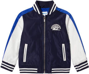 Mayoral Navy, Blue and White Bomber Jacket