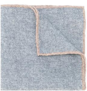 Eleventy contrast seam pocket square