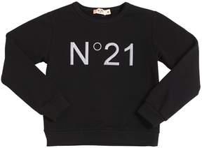 N°21 Logo Cotton Sweatshirt