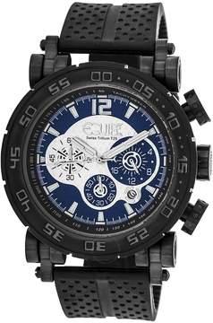 Equipe Tritium Stud Chronograph Blue Dial Men's Watch