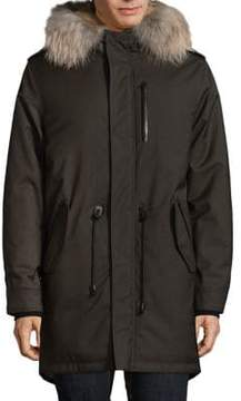 Mackage Moritz-S Fur-Trim Down Coat