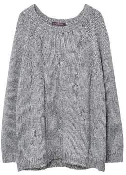Violeta BY MANGO Lurex knitted sweater