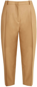 Acne Studios Tabea wool-blend cropped trousers