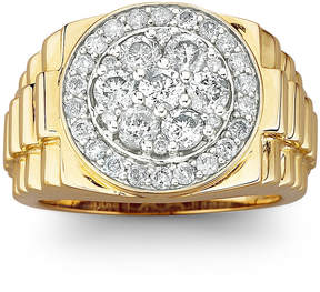 JCPenney FINE JEWELRY Men's Diamond Cluster Ring 2 CT. T.W. 10K Gold
