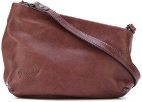 Marsèll diagonal cut shoulder bag