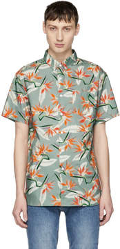 Saturdays NYC Multicolor Esquina Paradise Shirt