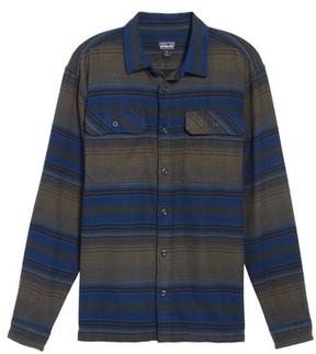 Patagonia Men's 'Fjord' Regular Fit Organic Cotton Flannel Shirt