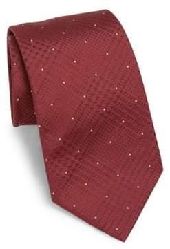 Armani Collezioni Polka Dot Silk Tie