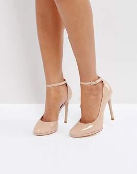 Faith Cruella Nude Heeled Shoes