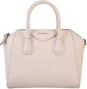 Givenchy White Small Antigona Bag