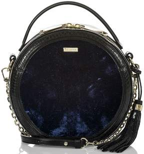 Brahmin Rhineland Collection Lane Velvet Canteen Cross-Body Bag