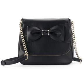 Apt. 9 Ruby Bow Flap Crossbody Bag
