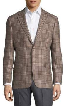 Hickey Freeman Plaid Jacket