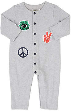 Kenzo Infants' Patch Cotton Terry Coveralls